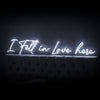 I Fell In Love Here Led Sign - Marvellous Neon