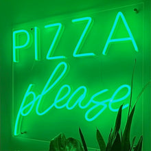 Pizza Please Led Sign - Marvellous Neon