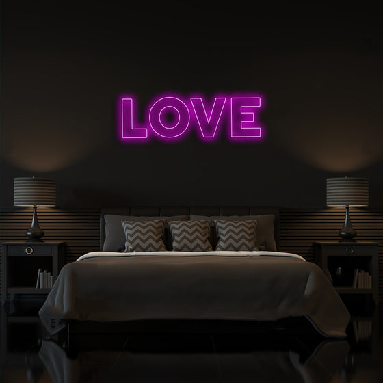 Love Neon Led Sign - Marvellous Neon