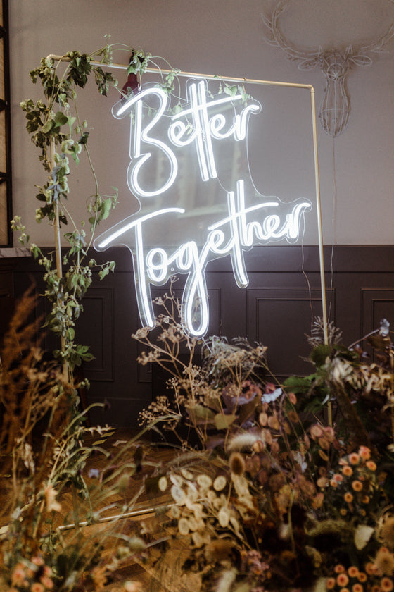 Better Together Led Sign - Next Day Delivery - Marvellous Neon