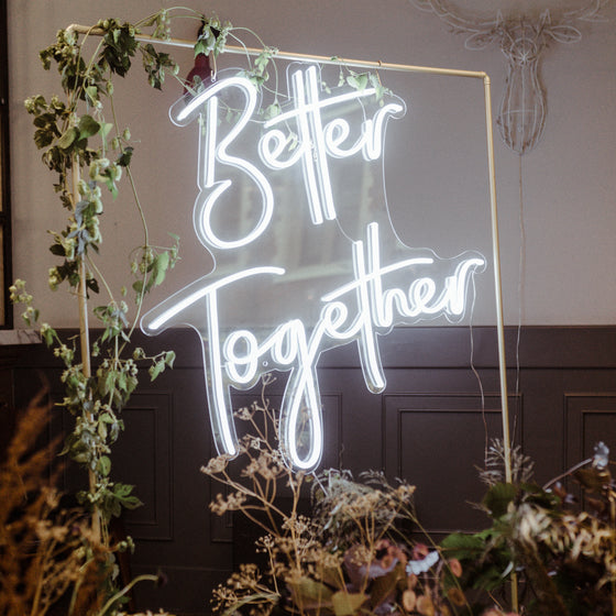 Better Together Led Sign - Marvellous Neon