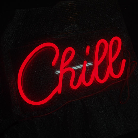 Chill Led Sign - Marvellous Neon