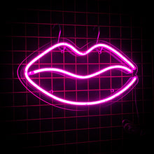 Neon Lips Led Sign | NEXT DAY DELIVERY AVAILABLE