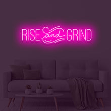 Rise & Grind Neon Sign - Marvellous Neon