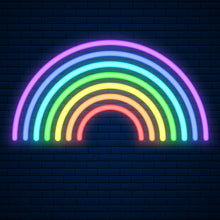 Rainbow Led Sign - Marvellous Neon
