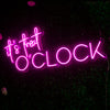 It's Treat O'Clock Led Sign - Marvellous Neon