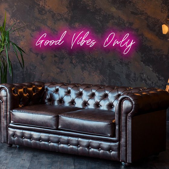 Good Vibes Only Led Sign - Marvellous Neon