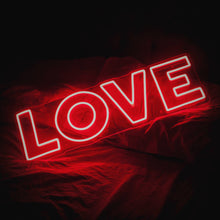 Love Neon Led Sign - Next Day Delivery Available - Marvellous Neon