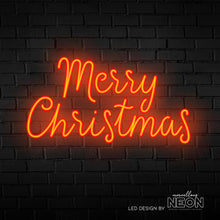Merry Christmas Neon Sign - Marvellous Neon