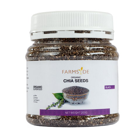 Organic Chia Seeds - Black