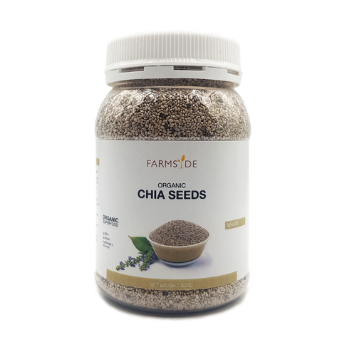 Organic Chia Seeds - White