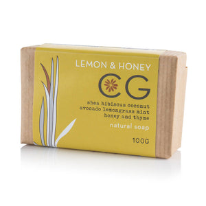 Cinnabar Lemon & Honey Bath Soap 100g