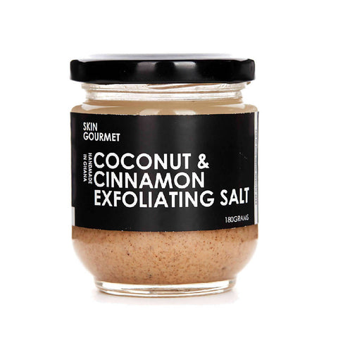 Coconut & Cinnamon Exfoliating Salt - 180g