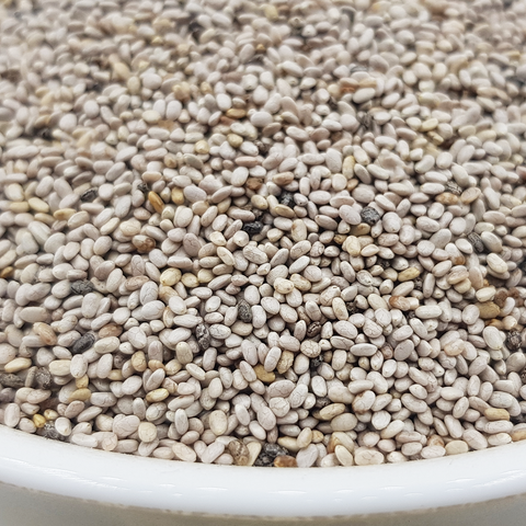 Image of Organic Chia Seeds - White