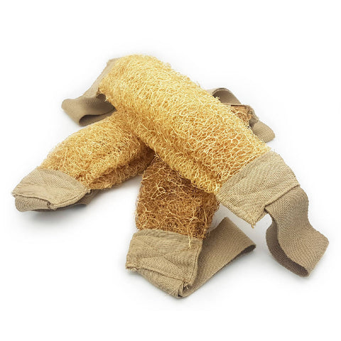 Image of Premium Loofah Natural Sponge - 3 Pack