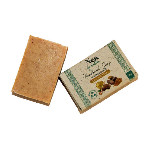 Image of Nea by Nature Turmeric & Honey Soap - 100g