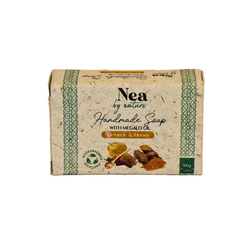 Nea by Nature Turmeric & Honey Soap - 100g