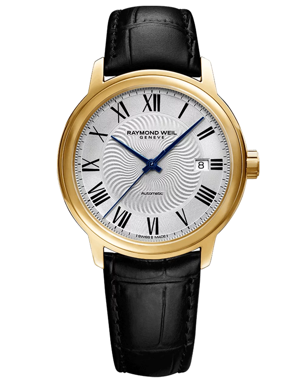 Gents Stainless Steel Gold Tone Raymond Weil Maestro Automatic Watch (39.5mm)