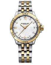 Load image into Gallery viewer, Ladies Stainless Steel Two Tone Raymond Weil Tango Quartz Watch (30mm)