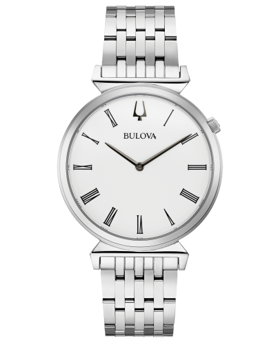 Stainless Steel Bulova Watch (38mm)