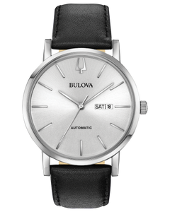 Stainless Steel Automatic Bulova Watch