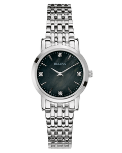 Ladies Stainless Steel Bulova Watch