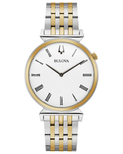 Load image into Gallery viewer, Two Tone Stainless Steel Bulova Watch