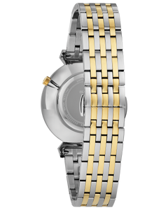 Two Tone Stainless Steel Bulova Watch