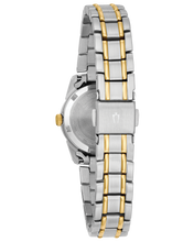 Load image into Gallery viewer, Ladies Two Tone Stainless Steel Bulova Watch