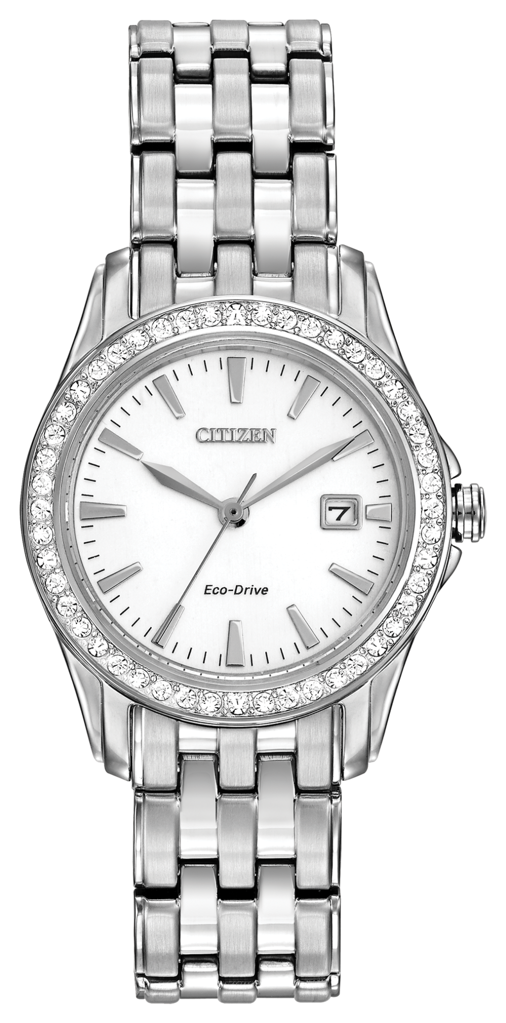 Ladies Stainless Steel Citizen Eco-Drive Watch