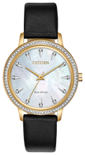 Load image into Gallery viewer, Ladies Stainless Steel Rose Tone Citizen Eco-Drive Watch