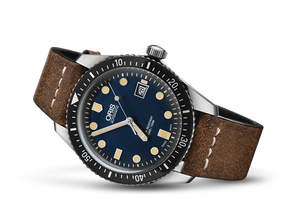 Oris Stainless Steel Divers Sixty-Five Watch (42mm)