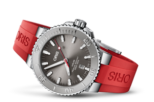 Oris Stainless Steel Aquis Date Relief Watch (43.5mm)