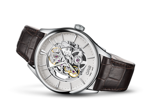 Oris Stainless Steel Artelier Skeleton Watch (40mm)