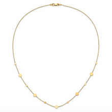 "Load image into Gallery viewer, 14k Yellow Gold Polished Disc 18"" Necklace"