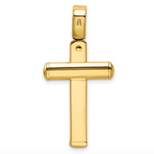 Load image into Gallery viewer, 14k Yellow Gold Polished Crucifix Pendant