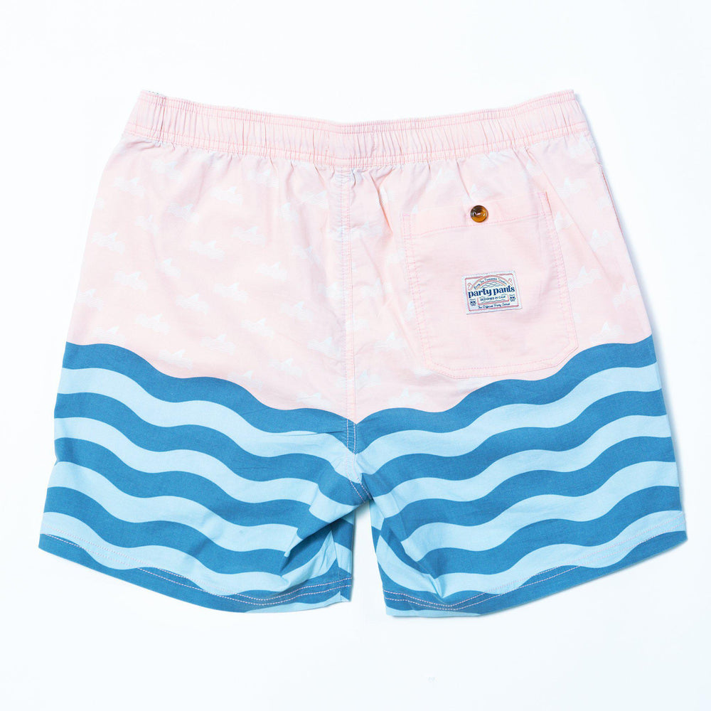 PARTY PANTS DEPTH SHORT