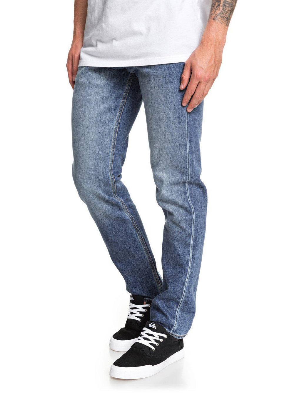 Revolver Medium Blue Straight Fit Jeans