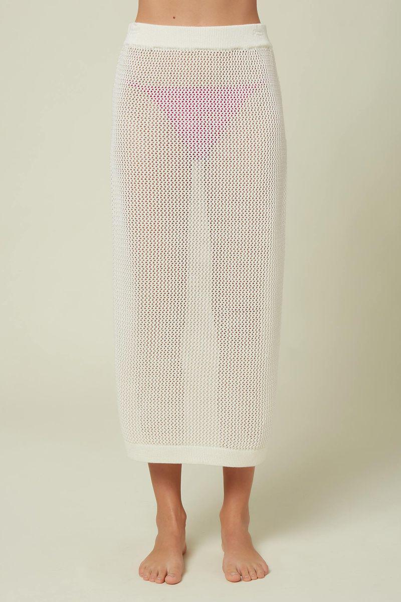LOUISE MESH SKIRT COVER-UP
