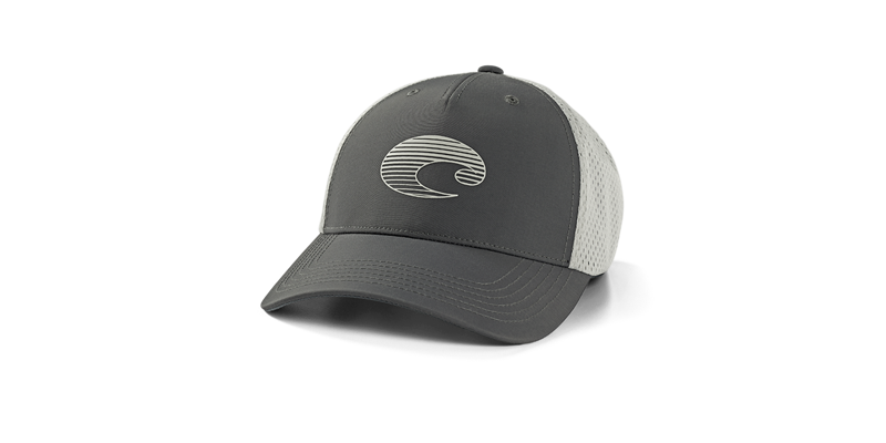 COSTA XL TRUCKER GRADIENT LOGO PERFORMANCE HAT-GREY