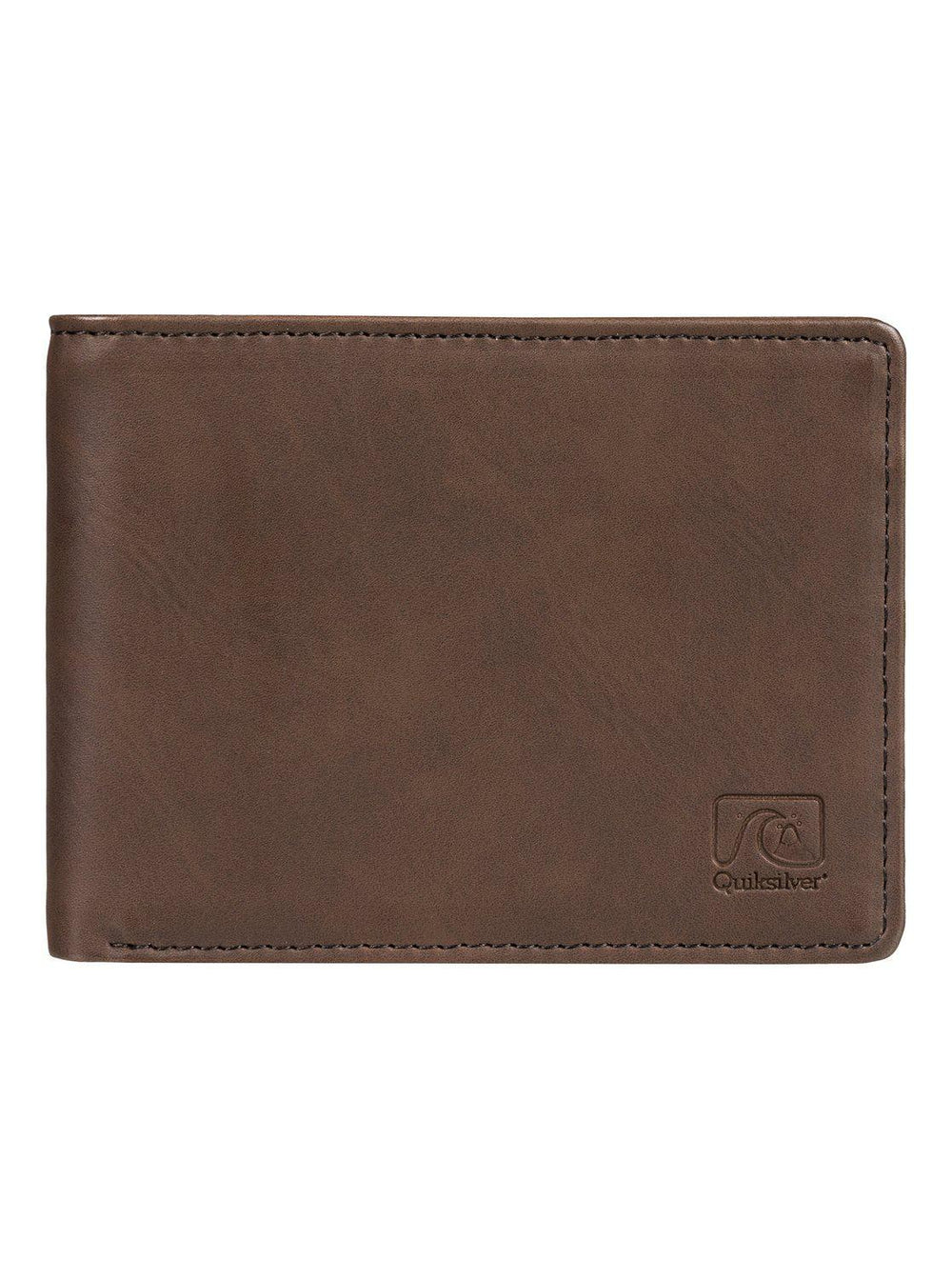 Slim Vintage Bi-Fold Wallet Brown