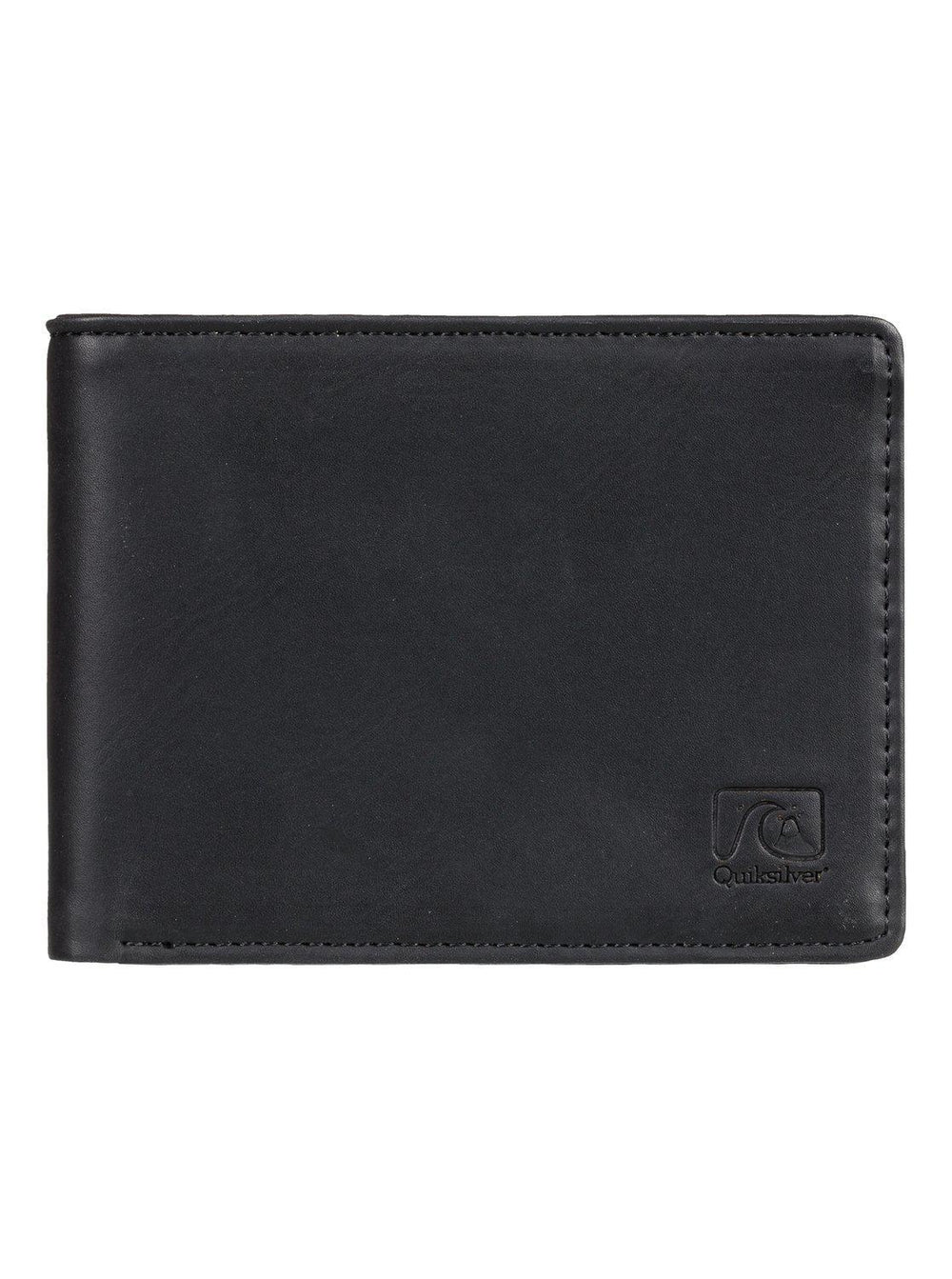 Slim Vintage Bi-Fold Wallet Black