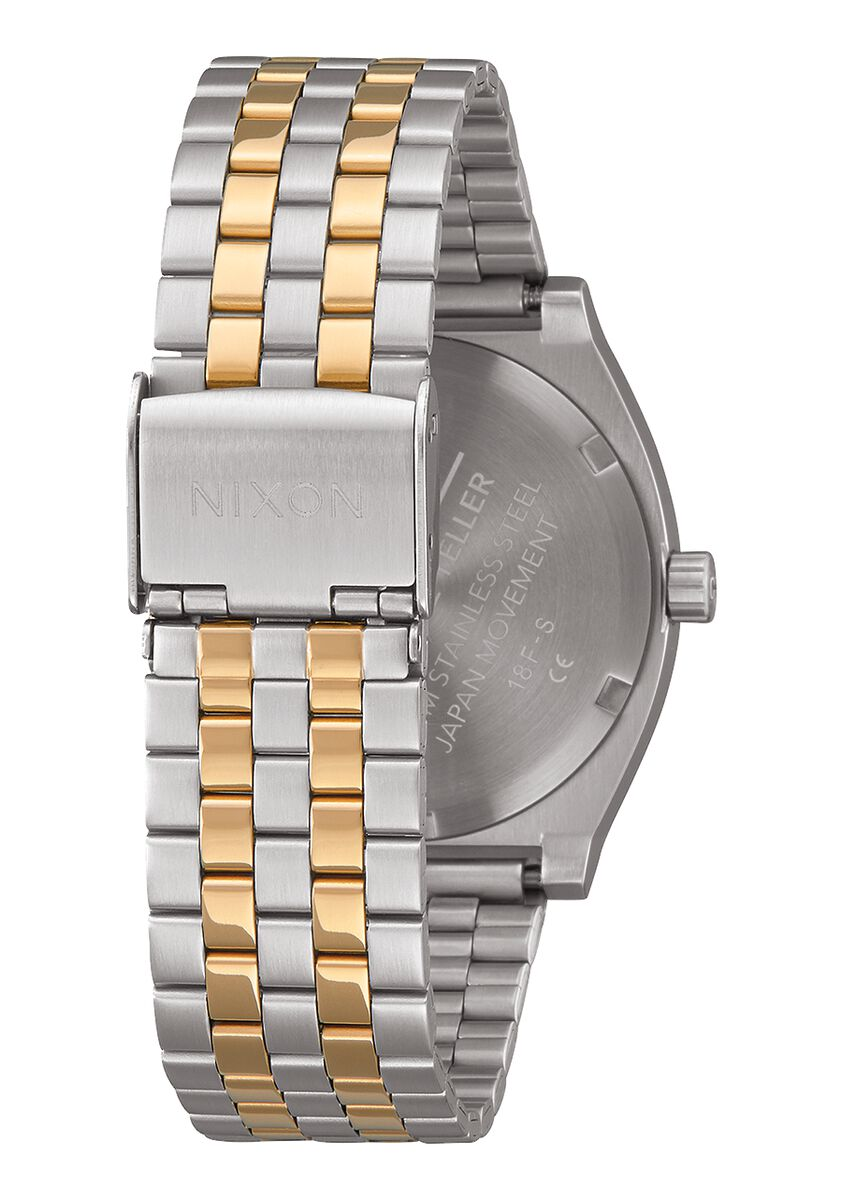 TIME TELLER SILVER/GOLD