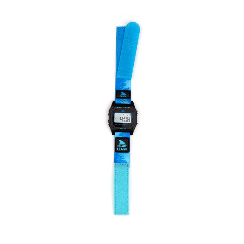 SHARK CLASSIC LEASH ALOHA BLUE PALMS