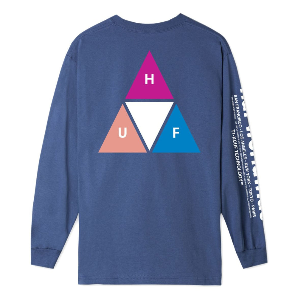 PRISM TRIPLE TRIANGLE LONG SLEEVE T-SHIRT