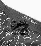 Chiller Peace & Shakas Boardshorts 17""