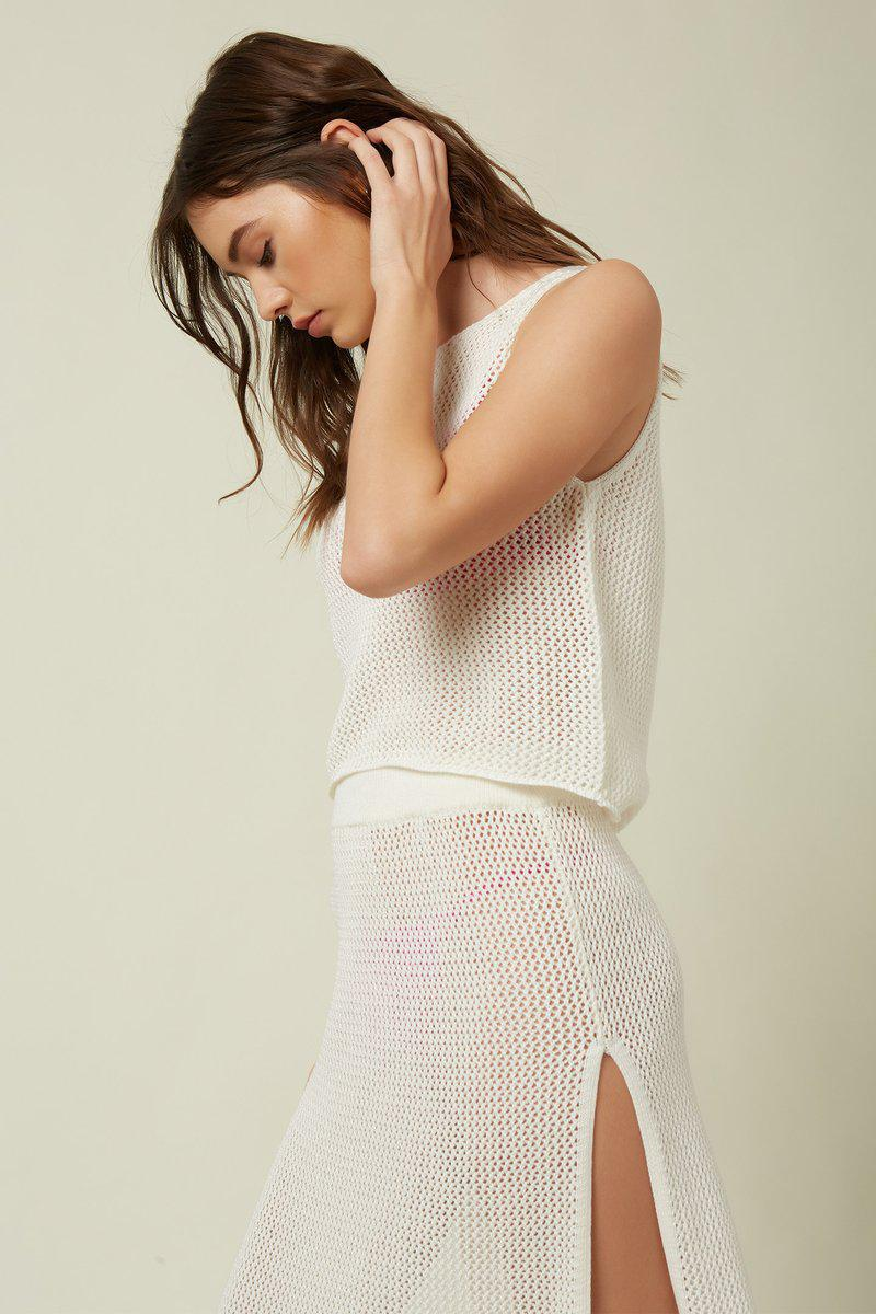 COLLIE MESH TANK COVER-UP
