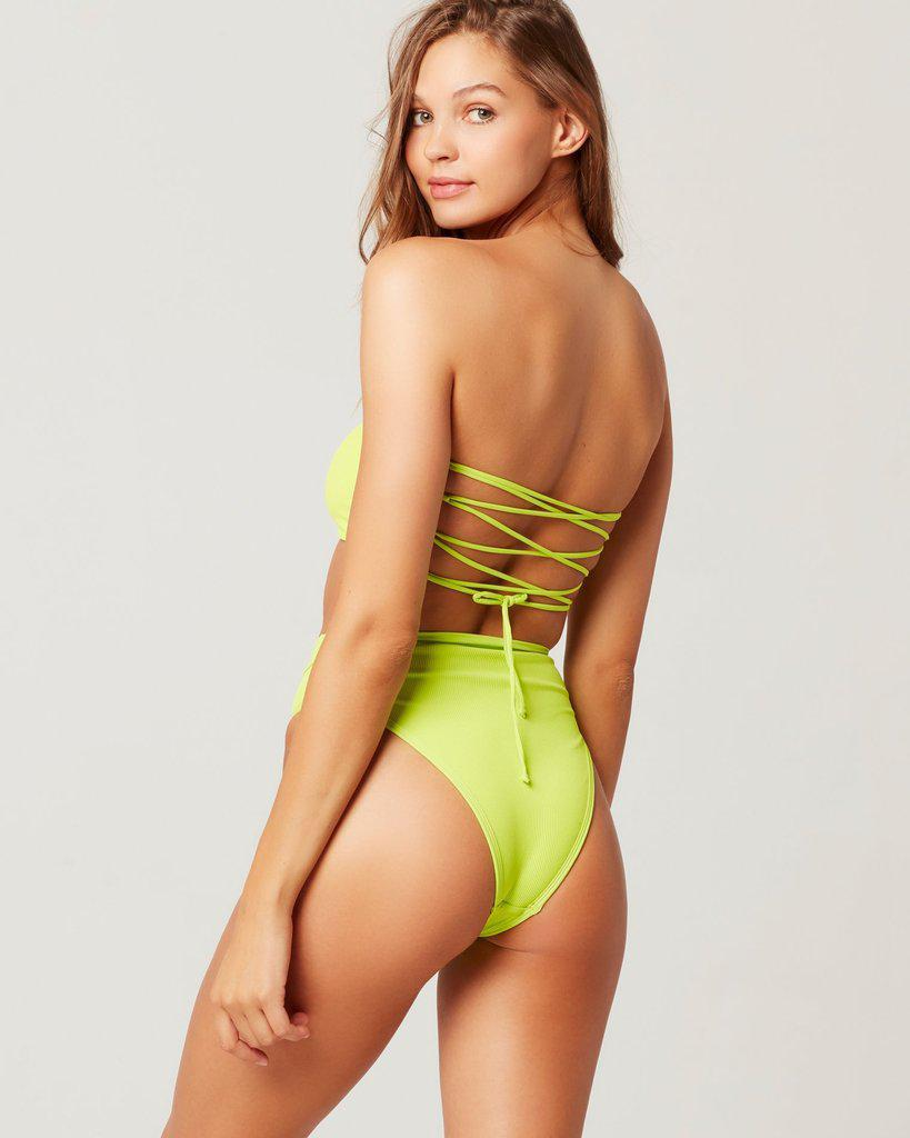Ribbed frenchi bikini bottom