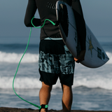 OUTCUT BLACK BOARDSHORTS