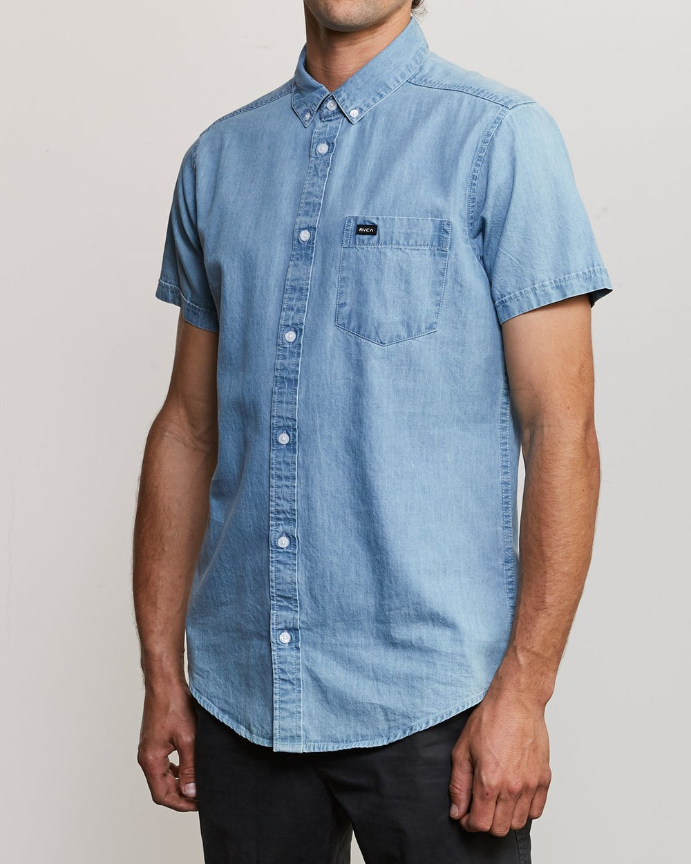 DEAD FLAG WASHED BUTTON-UP SHIRT